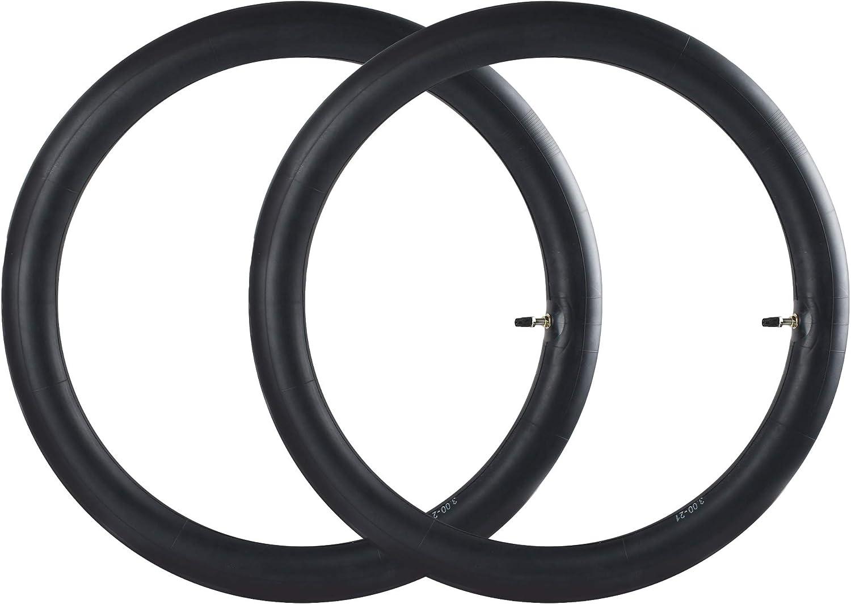 """80 100-21 Dirt Bike Tube Translated 2.75 Inner 2 Popular product 3.00-21"""" Pack"""