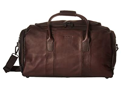 Kenneth Cole Reaction Colombian Leather Duffel (Brown) Luggage