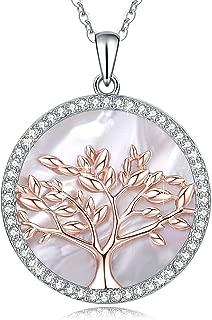 Collar para Mujer Árbol de la Vida Plata 925 con Cristales Swarovski