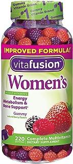 VitaFusion Women's Complete Multivitamin Natural Berry Gummies for Adults - 2 Bottles, 220 Gummies Each
