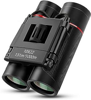 Prismáticos, otumixx 10 x 22 HD Prismaticos para Adultos y