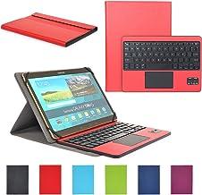 Feelkaeu Compatible with SAMSUNG Teclado Bluetooth Español Layout con Multi Touchpad Funda compatible con9-10.6 Pulgadas Cualquier Windows / Android Tablet CoastaCloud KBS8672