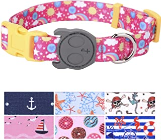 PetANTastic Best Adjustable Dog Collar Durable Soft & Heavy Duty with Cool Summer Beach Design, Outdoor & Indoor use Comfort Dog Collar for Girls, Boys, Puppy, Adults