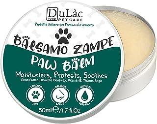 Crema Polpastrelli Cane Naturale Dulàc Pet Care 50 ml, Made in Italy - Crema Zampe Cane Idratante, Ripara e Protegge - Cre...
