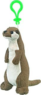 Wildlife Tree 7 Inch River Otter Stuffed Animal Clips for Kids Backpack Toy