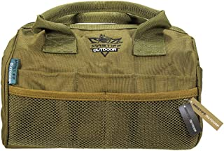 Mastiff Outdoor Multi-Tool Bag Wide Mouth Ammo Case Heavy Duty All Purpose Pack