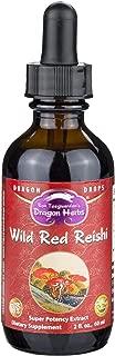 Dragon Herbs Wild Reishi Mushroom Super Potency Extract - 2 Fl Oz