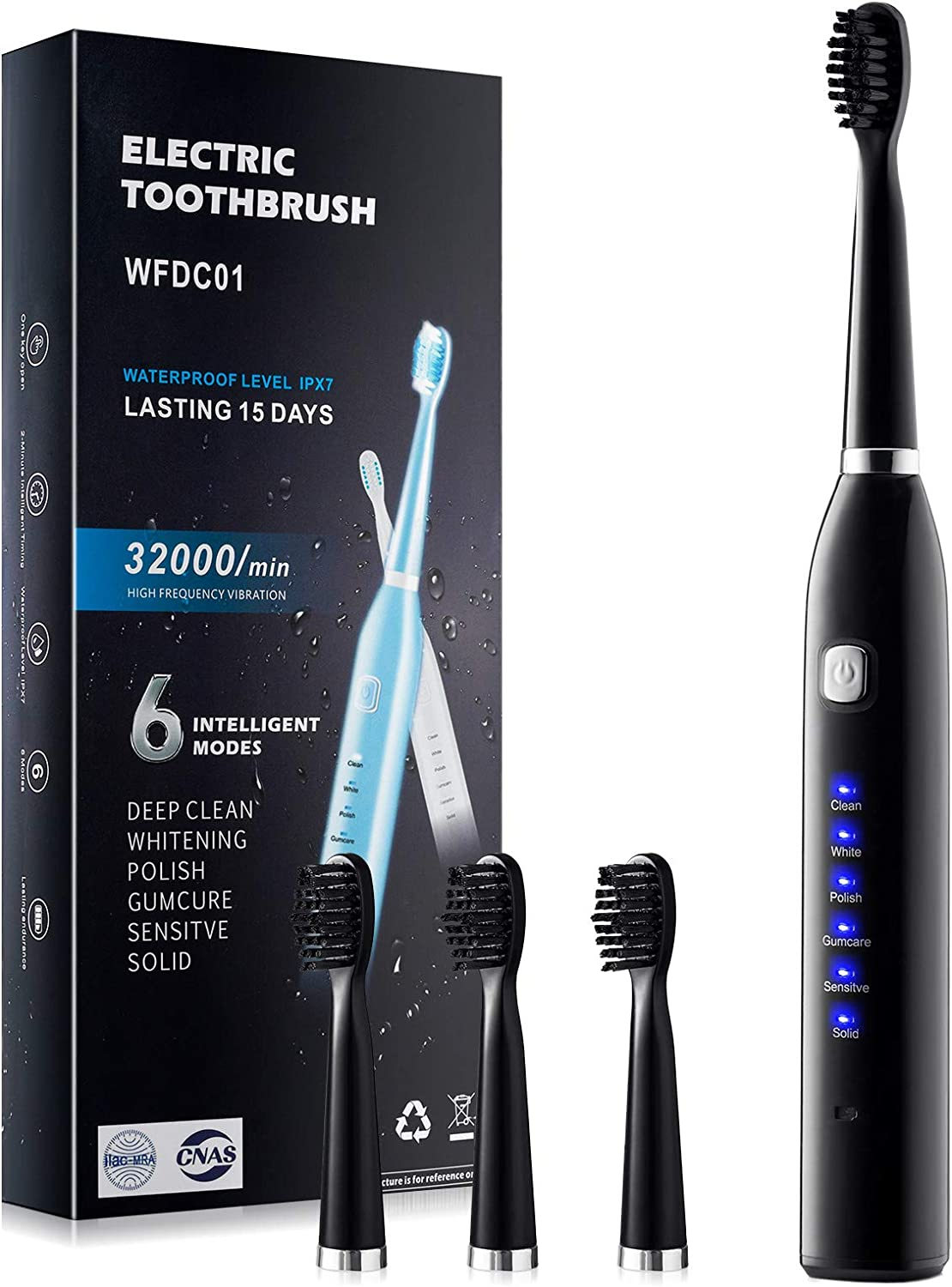Electric Toothbrush Adult Rechargeable Optional M We OFFer at cheap prices 6 Max 77% OFF