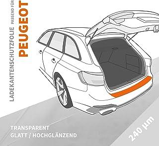 Ladekantenschutz Folie   Ladekantenschutzfolie › passgenau für: Peugeot Expert III ab BJ 2016 ✓ Hochtransparent Glänzend/Glatt ✓ Stärke 240 µm (0,24mm)