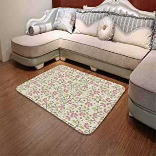 YOLIYANA Ultra-Soft Mat,Ladybugs,for Kitchen Living Room,55.12