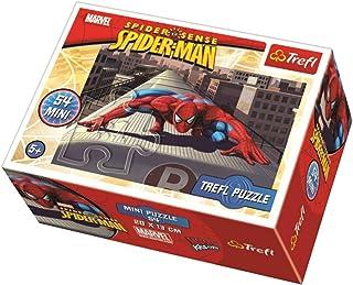 Trefl Spiderman Shaped Mini Puzzle - 54 Pieces