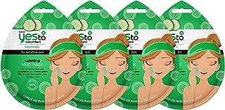 Yes To Cucumbers Calming Mud Mask Bundle (4 Single Use Masks)