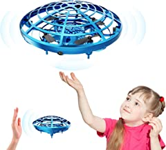 DEERC Drone for Kids Toys Hand Operated Mini Drone - Flying Ball Toy Gifts for Boys and Girls Motion Sensor Helicopter Outdoor and Indoor