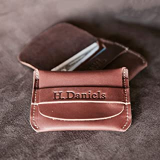 No. 3 Babe Ruth – Personalized Fine Leather Front Pocket Wallet