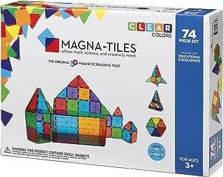 Magna Tiles Clear Colors 74 Piece Set - 14874