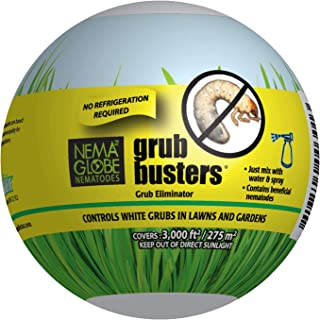 20 Million Beneficial Nematodes (H.bacteriophora) - Nema Globe Grub Buster for Pest Control - New