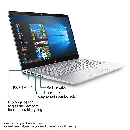 2017 HP Pavilion 14 HD WLED-Backlit HD (1366x768) Display Laptop