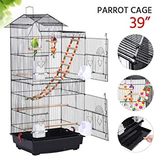 wide bird cages for sale