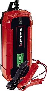 Einhell 1002235 Cargador de baterías, Rojo, Negro