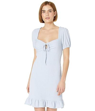 LOST + WANDER Drift Away Mini Dress (Baby/Blue) Women