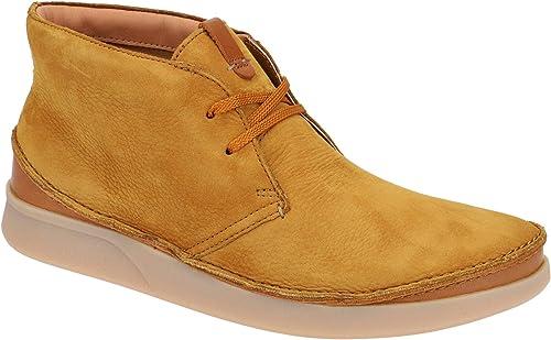 Clarks 26135601 7 - zapatos con Cordones de Cuero Hombre