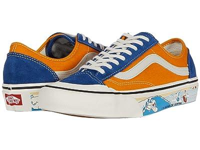 Vans Style 36 Decon SF ((Salt Wash) True Blue/Cadmium Yellow) Men
