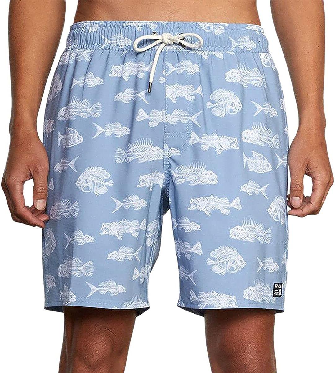 RVCA Mens Horton Fish Trunk