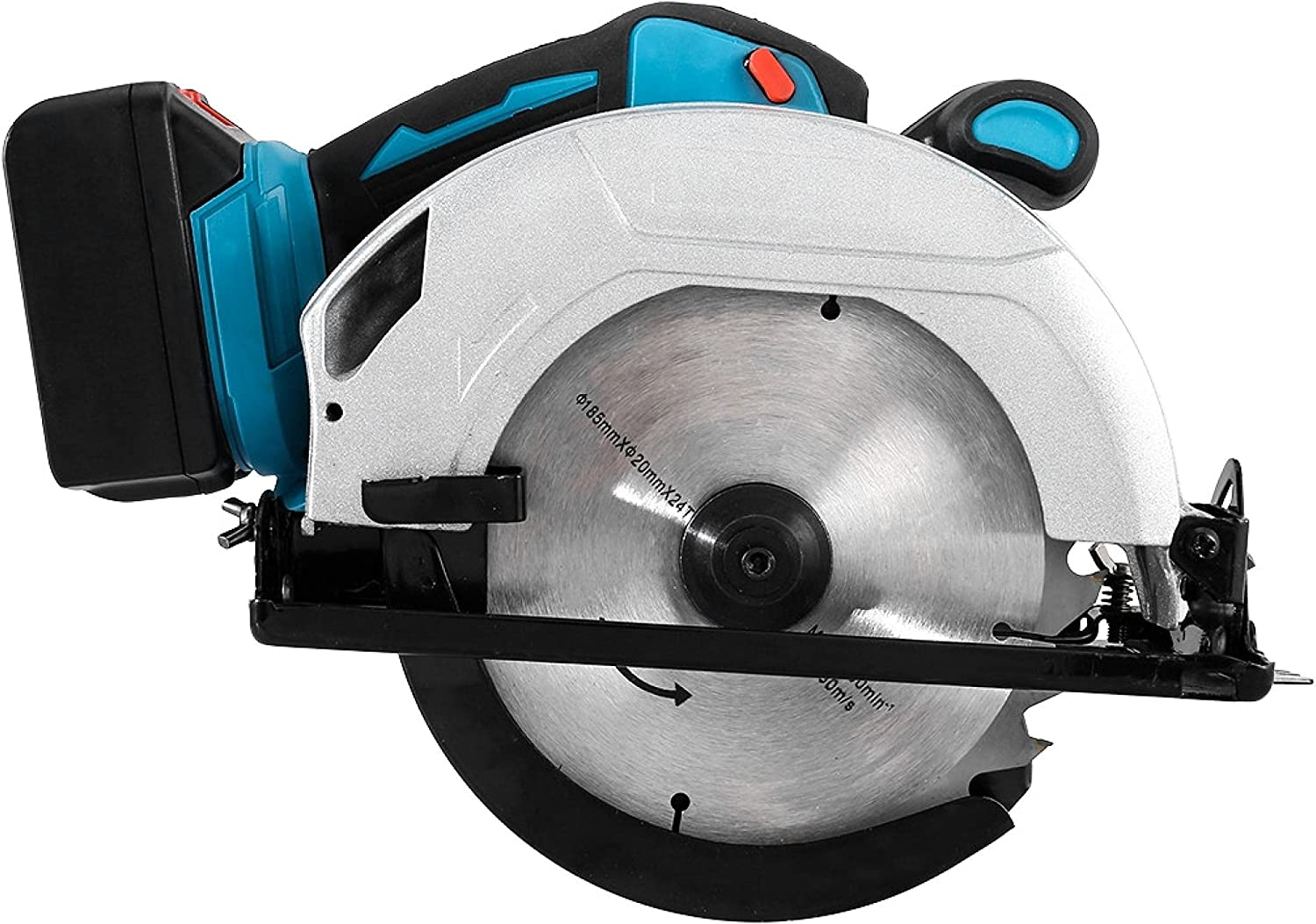 CCYY 20V 7-1 Online limited product 4 in Import Cordless Batter Circular Includes Saw Lithium