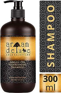Champú Argan Deluxe 300 ml. - Con Aceite de Argán altamente hidratante para un cuidado diario del cabello aportando suavi...