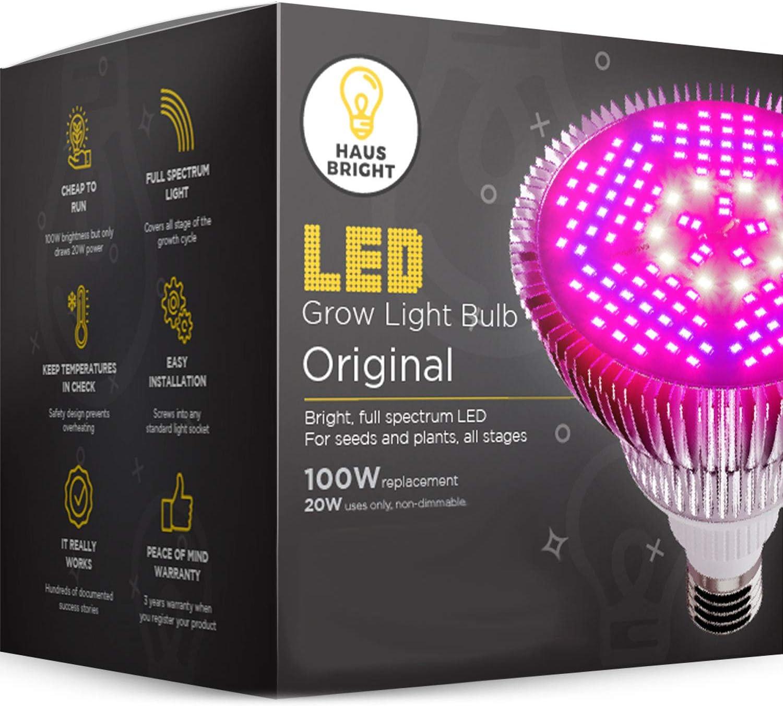 #1 Jacksking Grow Lamp Grow Light Full Spectrum E27//E14//GU10 85-265V 18W 18 LED Grow Light Flower Plant Hydroponic Growth Bulb