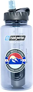 nalgene reusable bottle top filter