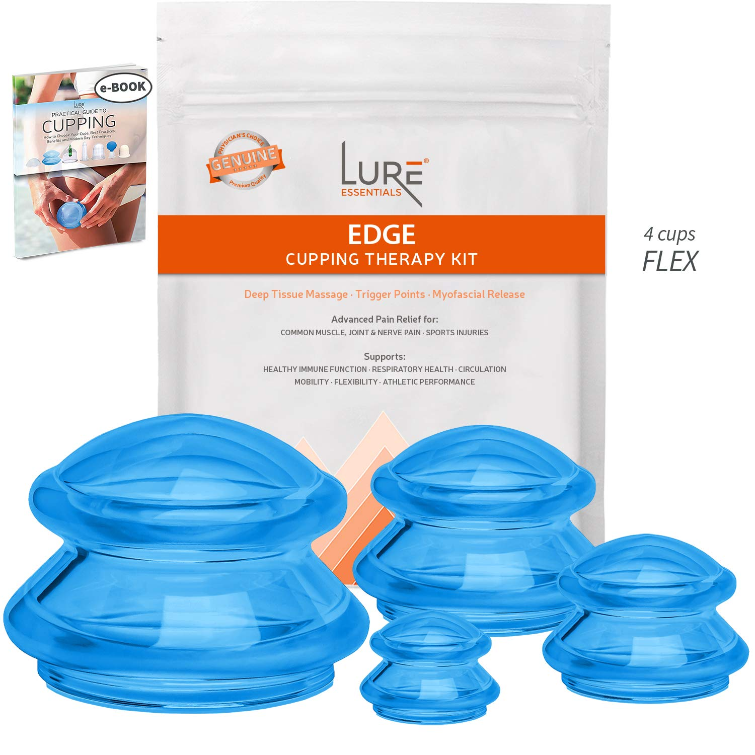 EDGE Cupping Therapy Sets Brilliant