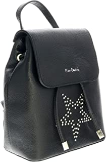 1744 NERO Black Backpack Handbags for womens