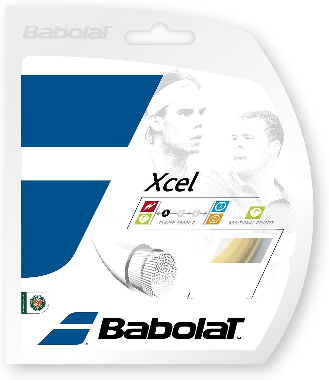 35% OFF Babolat Xcel 16-1.30mm Tennis Free shipping String Set Natural