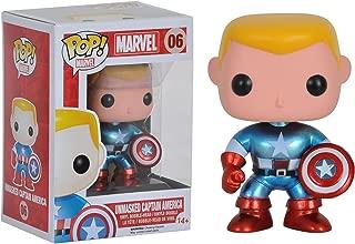Funko Pop Bundled with Pop BOX PROTECTOR CASE Unmasked Captain Marvel Marvel: Avengers Ms. Marvel #148 Vinyl Figure