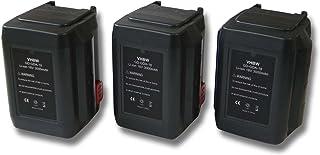 vhbw 3 x batteri som lämpar sig för Gardena sladdlös häcksax ErgoCut 48-Li (8878-20) ersätter 835, 8835-20, 8839, 8839-20...