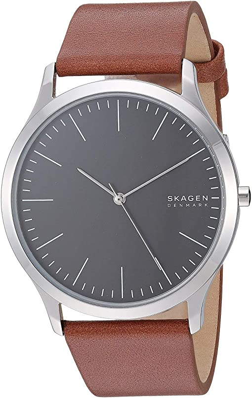 SKW6552 Silver Brown Leather