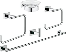 Essentials Cube Master Bathroom Set 5-In-1