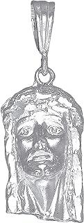 sterling silver jesus piece