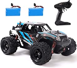 REMOKING RC Car,4WD 1/18 Scale 2.4Ghz Radio,High Speed 25MPH for All Terrain, Anti-Interference Electronic Off-Road Truck ...