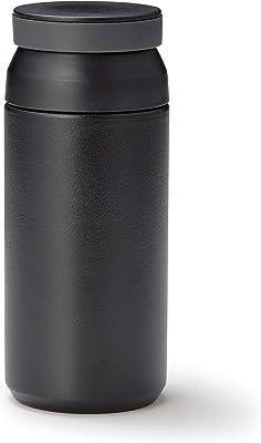 ドルチェデュオ 水筒 340ml 真空断熱 マグボトル 保温 保冷 真空ステンレスボトル 二重構造 黒 SB-1545