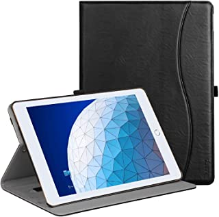 """Ztotop Case for iPad Air 10.5"""" (3rd Gen) 2019/iPad Pro 10.5"""" 2017, Premium Leather Business Slim Multi-Angle Viewing Stand..."""