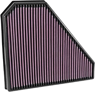 K&N Engine Air Filter: High Performance,  Premium,  Washable,  Replacement Filter: 2014-2019 CADILLAC (CTS V-Sport),  33-5028