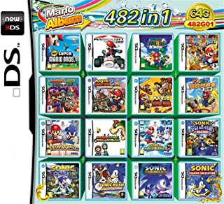 comprar comparacion 482 Juegos en 1 NDS Game Pack Card Super Combo Cartridge para NDS DS 2DS New 3DS XL