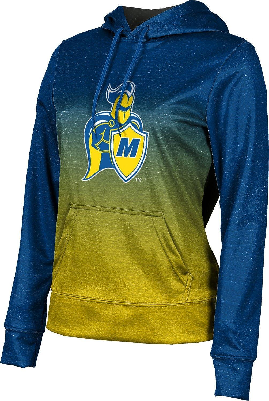 ProSphere Madonna University Girls' Pullover Hoodie, School Spirit Sweatshirt (Ombre)