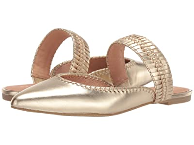 Jack Rogers Tinsley Pointed Mule (Gold) Women