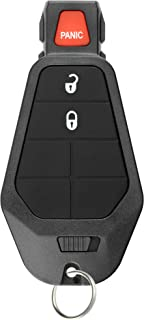 KeylessOption Keyless Entry Remote Control Car Key Fob Starter Clicker for Dodge Chrysler Jeep