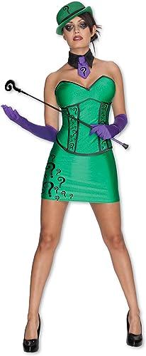 femmes Riddler Fancy Robe Costume X-petit