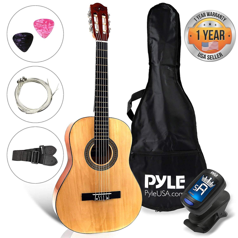 Pyle PGACLS30 - Guitarra acústica (6 cuerdas): Amazon.es ...