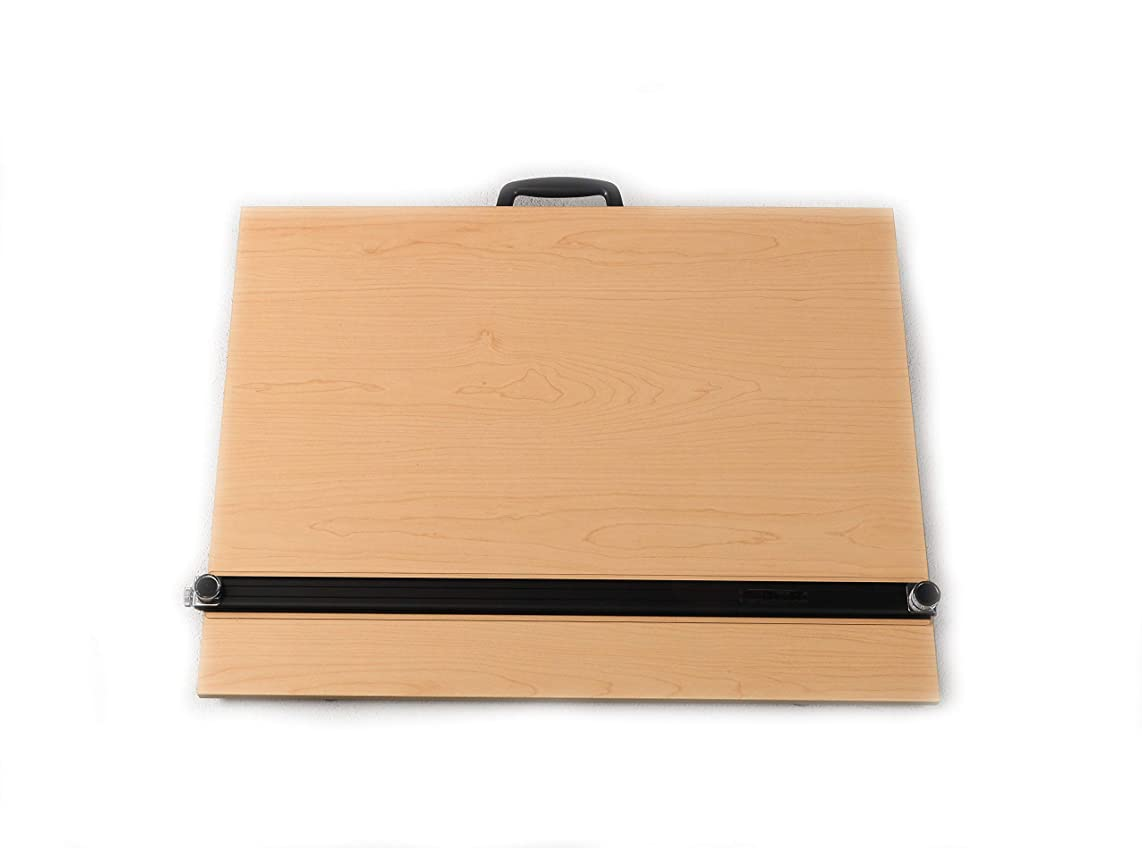 Martin Universal Design Universal Design Pro-Draft Parallel Edge Board with Straightedge and Feet, Woodgrain, 16 x 21 Inches, 1 Each